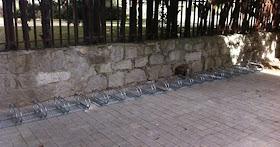 Nuevos aparcamientos para bicicletas en Las Rozas