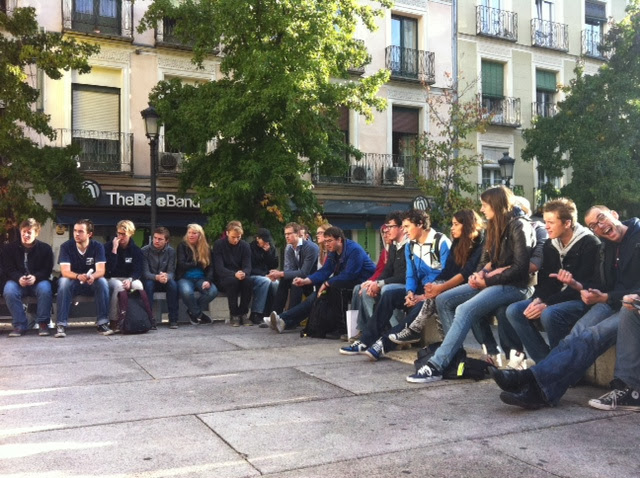 Studiereis Madrid 2013 - Concepten bespreken