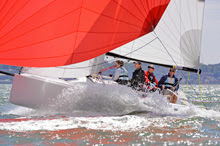 J/70 one-design offshore speedster- sailed by Russell Peters from West Kirby Sailing Club