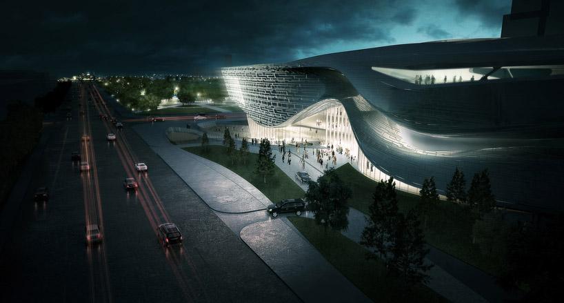 dalian museum design by 10 design