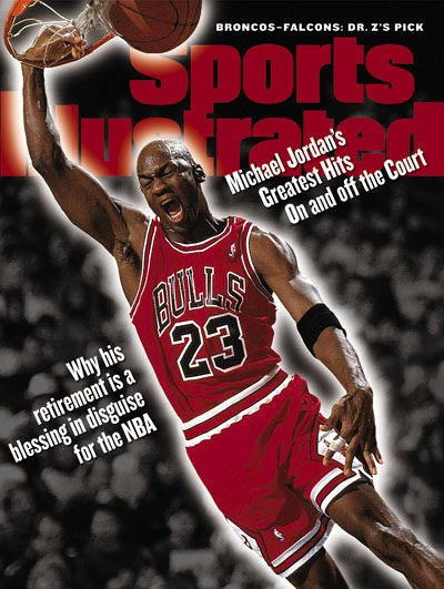 *Sports Illustrated:慶祝Michael Jordan 50歲生日封面特輯回顧! 4