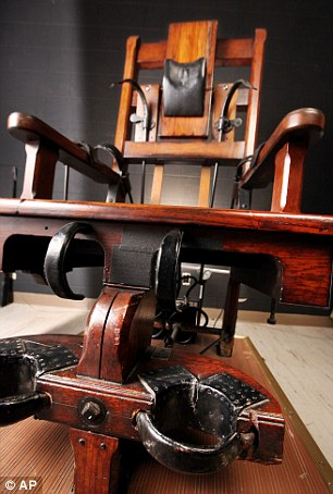Old Sparky Electric Chair Which Executed 315 Death In 80