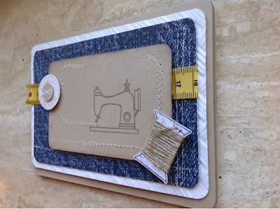 Stampin up Sew Lovely