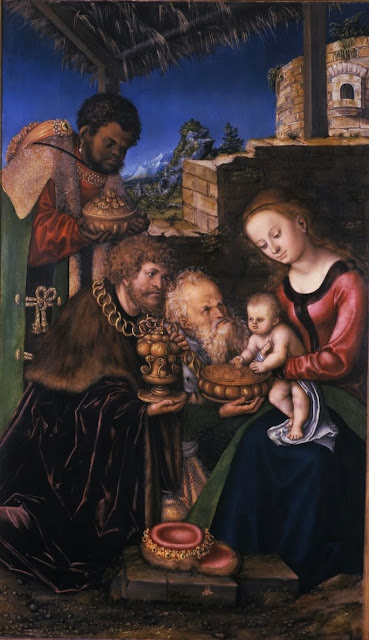Lucas Cranach the Elder - The Adoration of the Magi