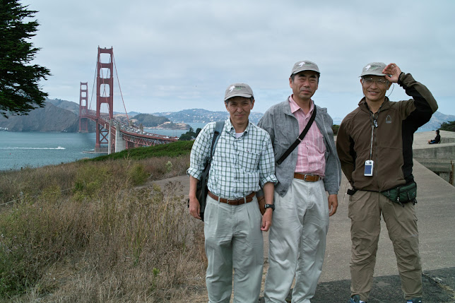 Tenkara anglers in San Francisco