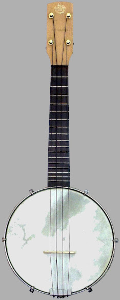 "GH&S ""The Marvel"" Open Back Soprano Banjolele"