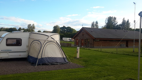 Strathclyde Country Park Caravan Club Site at Strathclyde Country Park Caravan Club Site