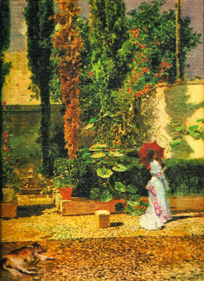 Mariano Fortuny - Garden of the Fortuny's house