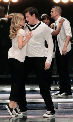 Glee rachel und Finn Dating im echten Leben