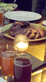 One of the Roasts, the Cocoa Dusted Beef Tri-Tip for the Raven and Rose and Goose Island Brewers' Dinner Series event on December 7, 2014