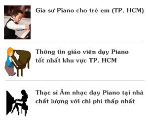 Giáo viên Piano