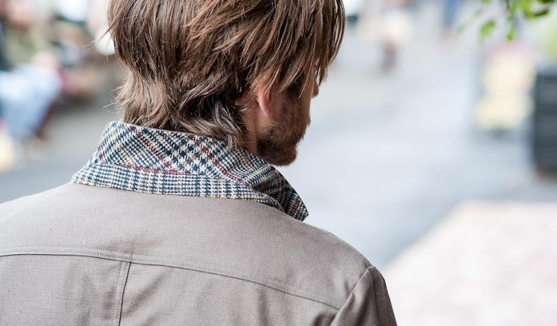Green Trail Blazer: Collar Pop CU