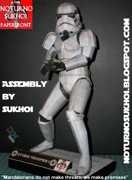 Stormtrooper Paper Model