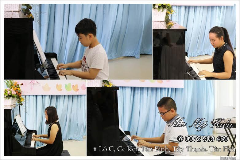 Giáo viên Piano quận Tân Bình, Tân Phú