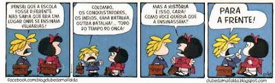 Clube da Mafalda:  Tirinha 718