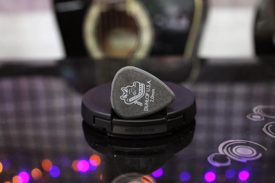 Miếng Gảy - Dunlop Gator Grip Picks (2.0 mm)