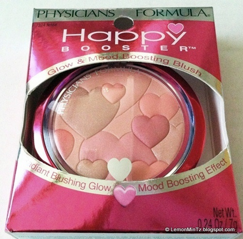 Review: Physicians Formula Happy Booster, Glow & Mood Boosting Blush in Natural