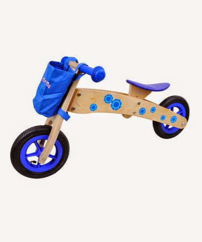 Wooden Balance Bike by MaMaMeMo on offer at £65.99 from £110