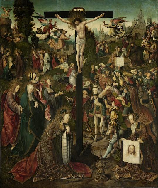 Jacob Cornelisz. van Oostsanen - Crucifixion