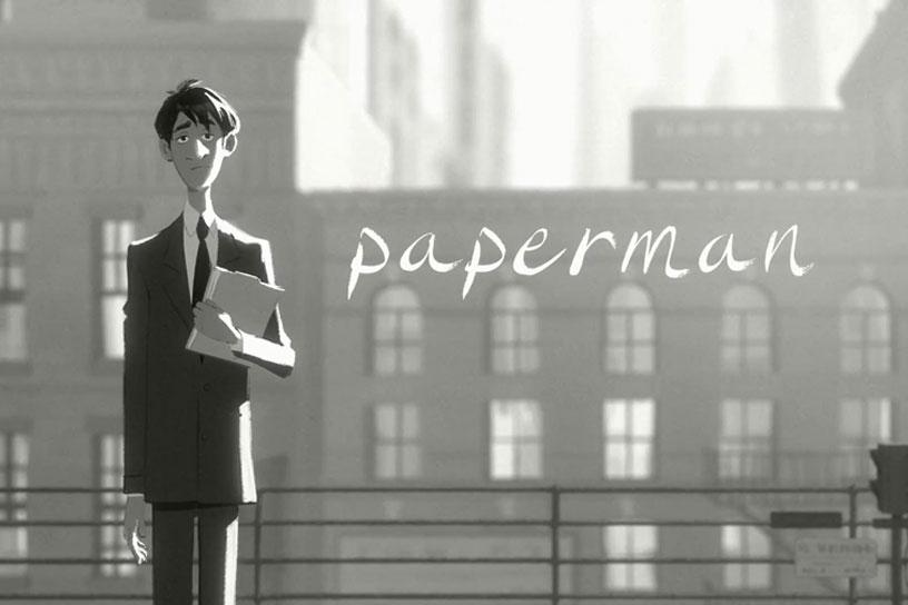 *榮獲奧斯卡提名-迪士尼動畫短片Paperman:紙飛機劃開愛情的隔界 9