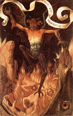 from The Last Judgement painted by Hans Memling  1466-1473