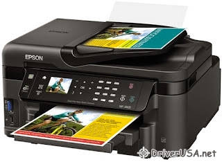 download Epson Workforce WF-3520 printer's driver