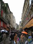The bustling neighborhood of Montmartre