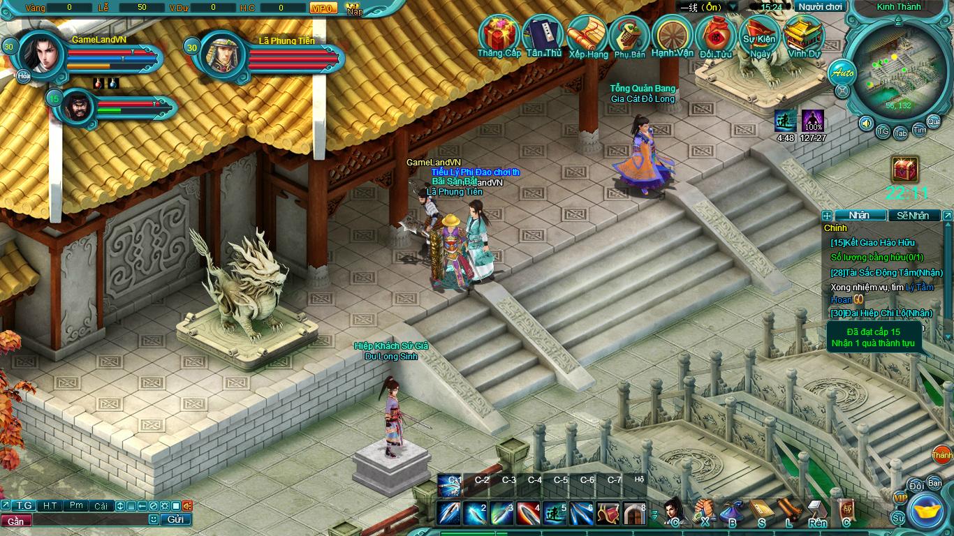 Hình ảnh thử nghiệm webgame Tiểu Lý Phi Đao - Ảnh 23