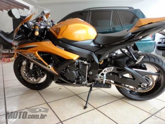Me apresentando de moto nova. GSX-R 750 Rafael de Goiânia Srad2