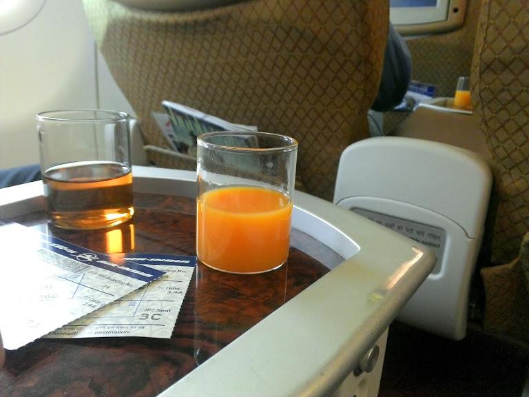 В бизнес-классе Air India