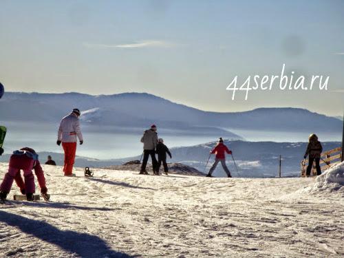Горные лыжи Сербия