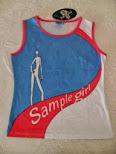 CAMISETA SAMPLE GIRLS Bonita camiseta
