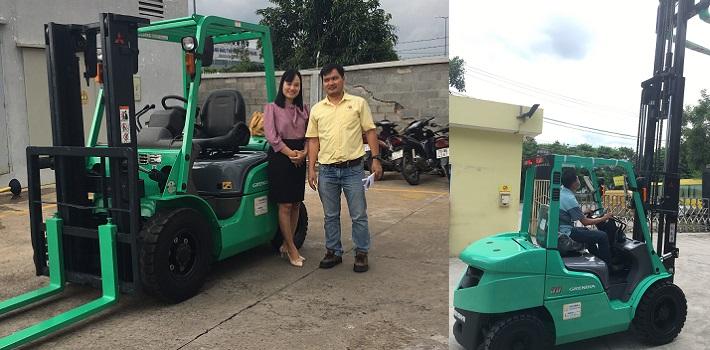 Dịch vụ khách hàng từ Mitsubishi Forklift: