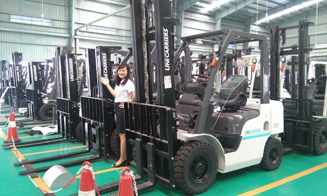 Diesel forklift 2.5 tons Nissan Unicarriers