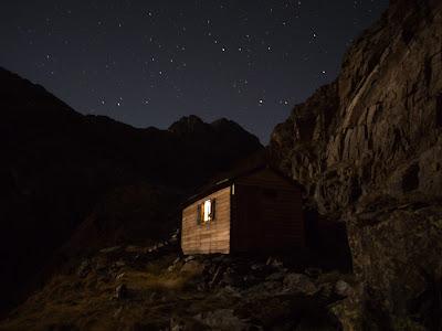 Fem nit al refugi dels Estanys Forcats