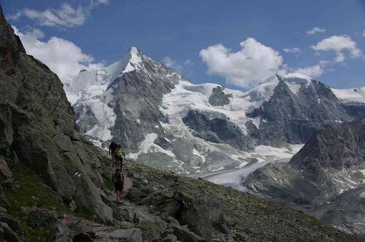 Obergabelhorn et mont Durand