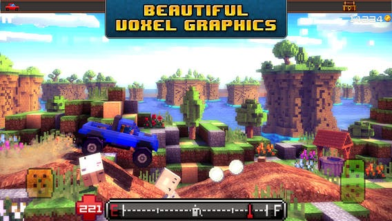 Blocky Roads v1.2 for iPhone/iPad