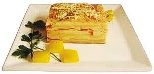 Lasanha aos quatro queijos