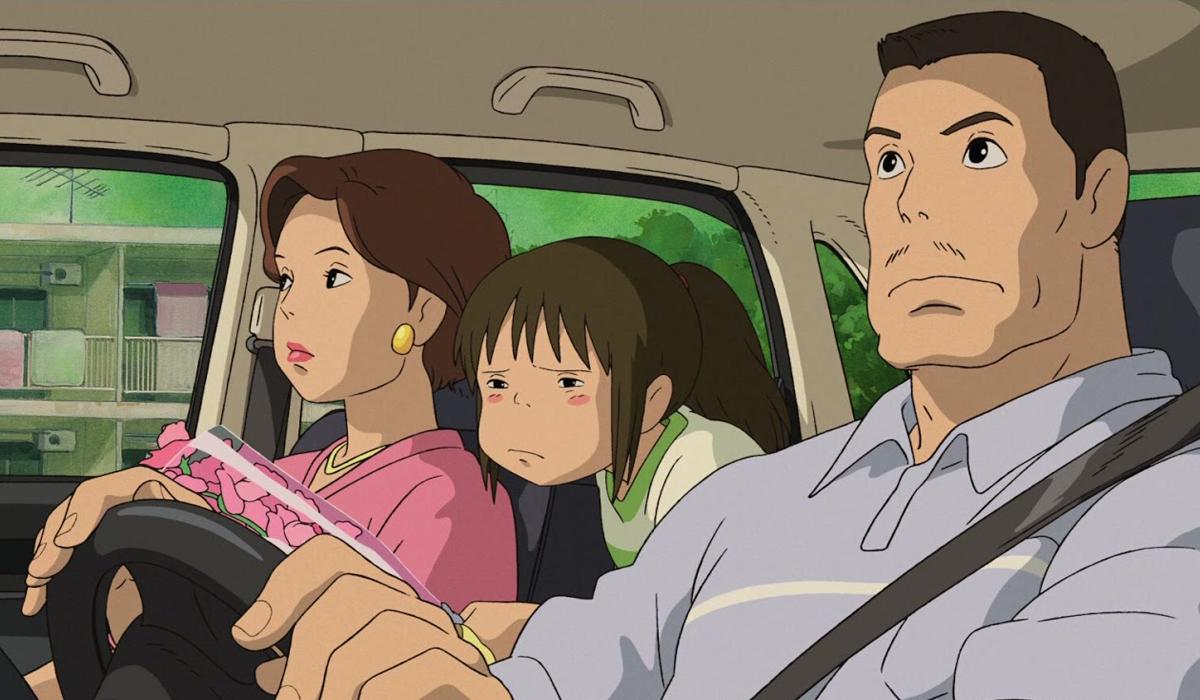 Chihiro and her family