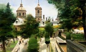 Segundo Premio  XXVI Certamen de Pintura Rápida Manuel Viola,San Lorenzo de El Escorial,2013,Cristobal Perez Garcia,del pintor al comprador