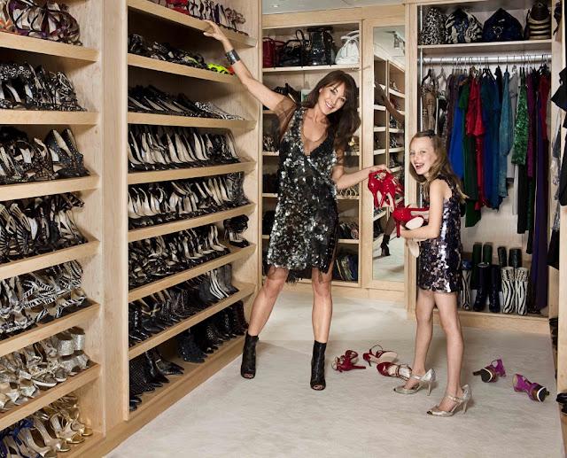 Kim Kardashians Closet Other Celebs Design Indulgences