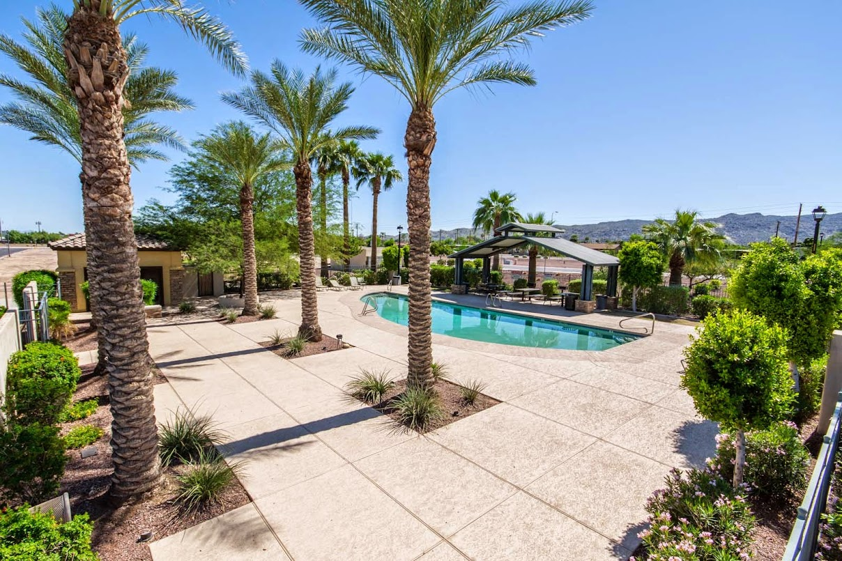 Community pool for Phoenix Homes for Sale