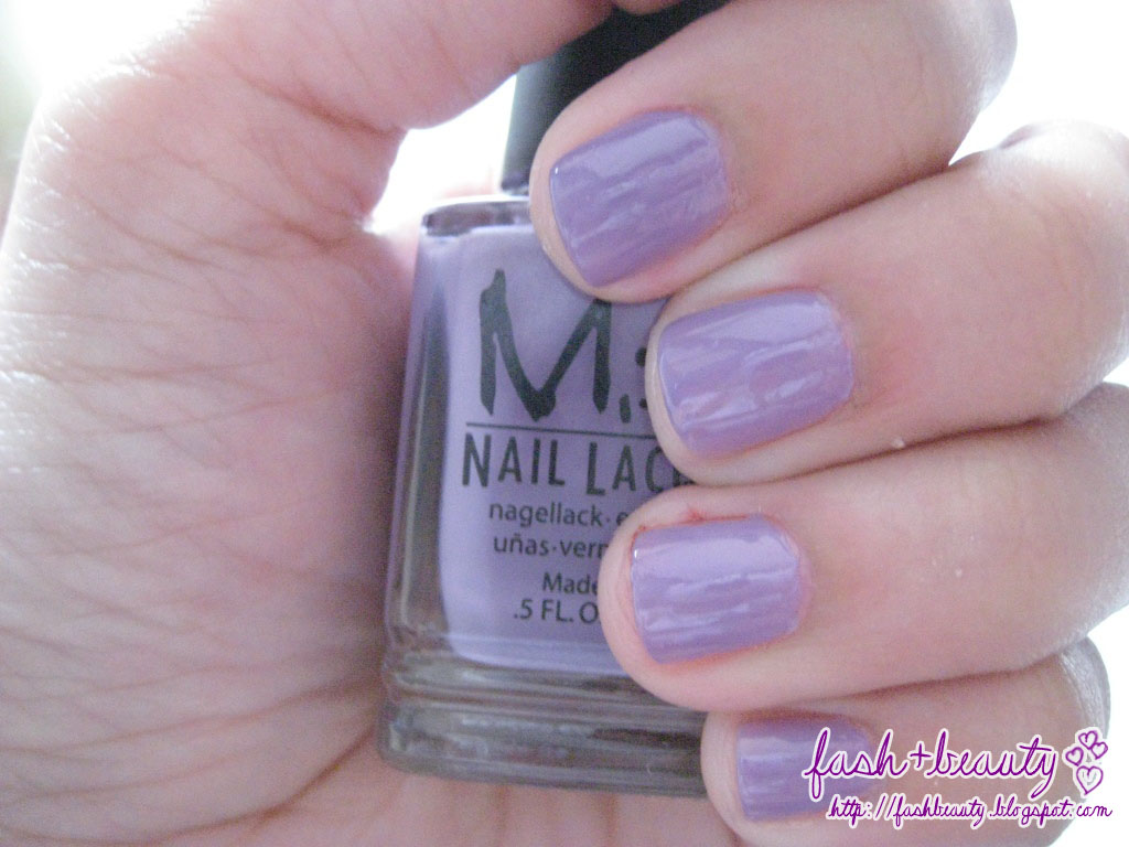 Review + Swatch: Misa Nail Lacquer in Jasmine ~ Bargains and Cream