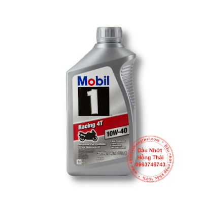Dầu nhớt Mobil 1 Racing 4T 10W40