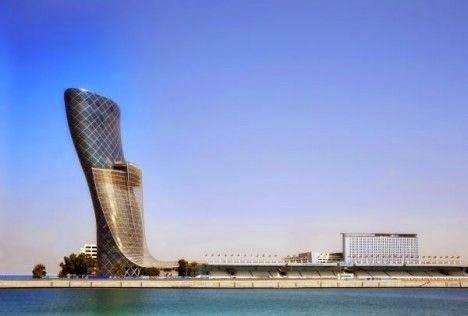 Hyatt Capital Gate, Abu Dhabi, Emirados Árabes Unidos