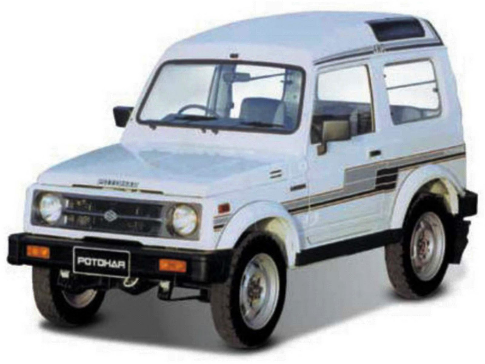 Suzuki Potohar Jeep Specifications