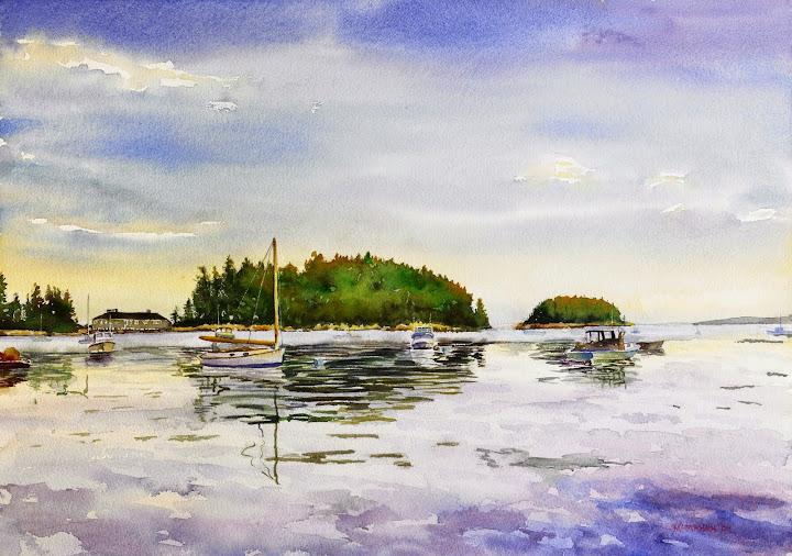 Hen Island. Artist of the Month: Paul McMahan