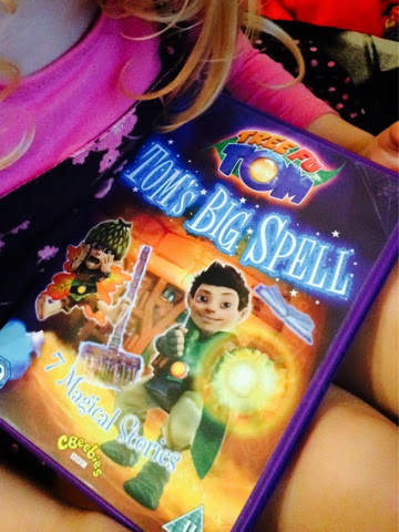 Tree Fu Tom, Toms big spell dvd