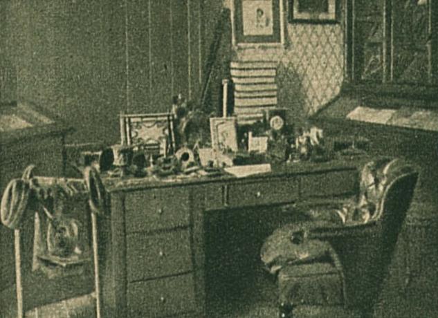 Jókai dolgozószobája