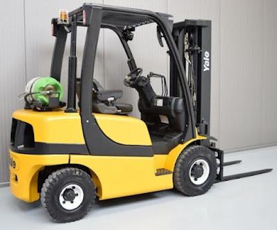 Xe nâng máy xăng gas Yale 1.5 - 3.5 tấn